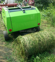 square hay baler PTO drived round straw baler hey baler (for rice wheat pasture)