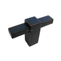 European style Square die casting zinc alloy Furniture knobs