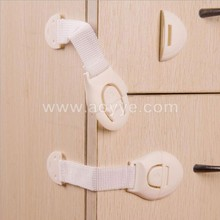 Wholesale double sides adhesive tape furniture cabinet multi-function plastic drawer adjustable child infant baby safety lock
