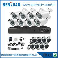 BenYuan CCTV 8CH DVR Camera Kit P2P Home Surveillance Camera system
