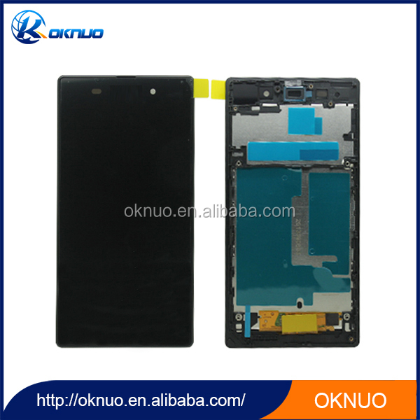 100% New Lcd Touch Screen Digitizer For Sony Xperia Z1 Black