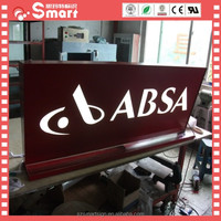 Wall Mounted Store Front Lightbox Led Store Name Signs