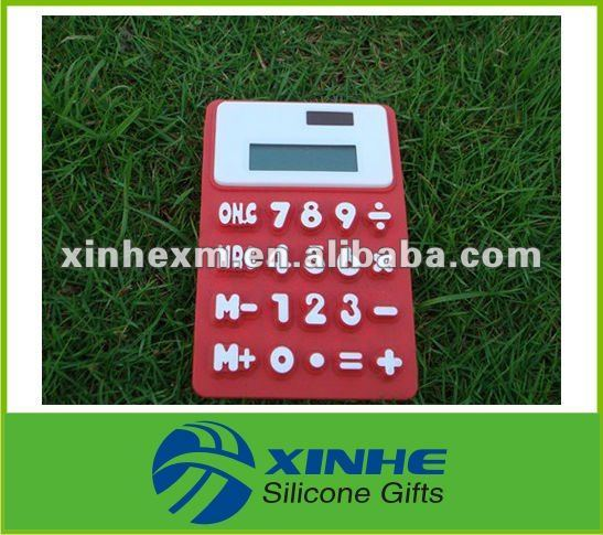 Hot Sale Silicone Rubber LED Display Calculator
