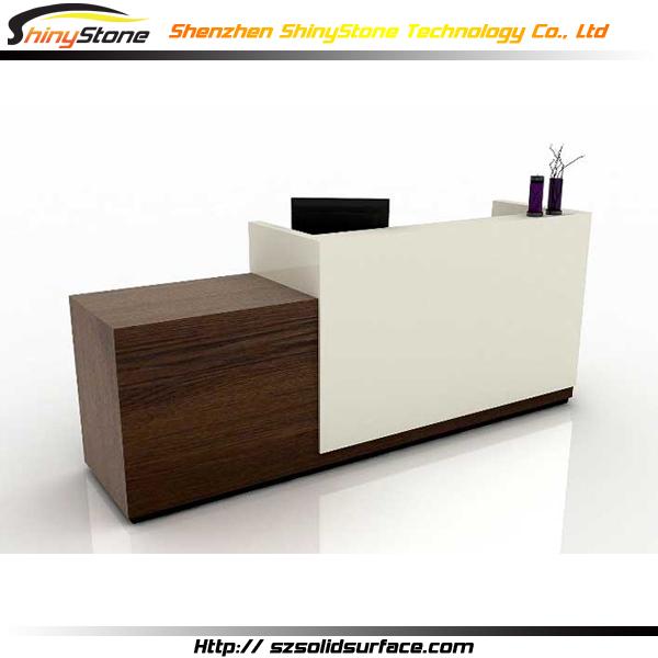 High-end Hi-macs Solid Surface Retail Cashier Reception ...