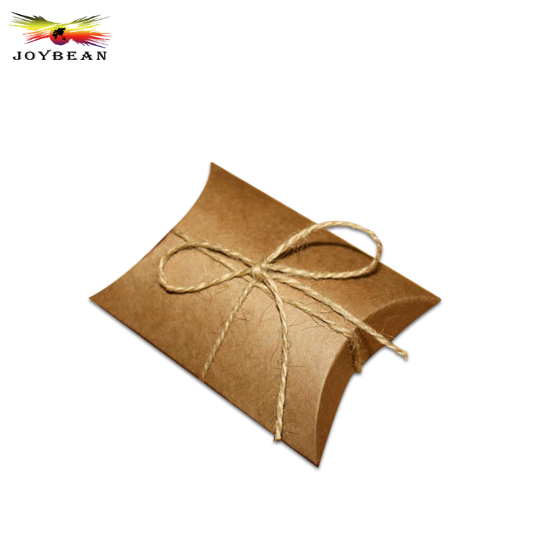 Custom handmade underwear packaging pillow paper box