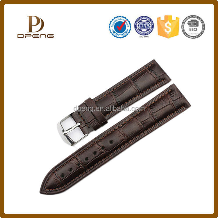 2017 custom multi color genuine suede leather watch strap in different sizes