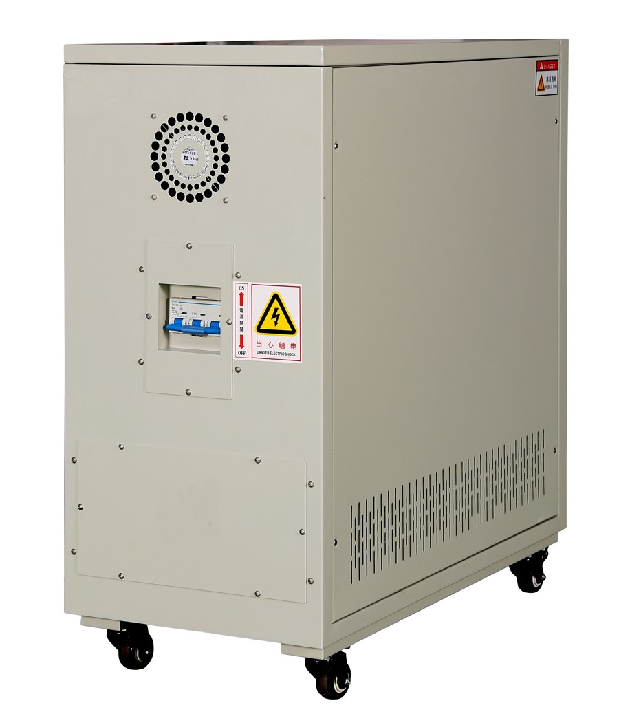 Intelligent non-contact compensating AC stabilizer (single phase or three phase ), DSP control ,export to America, Germany