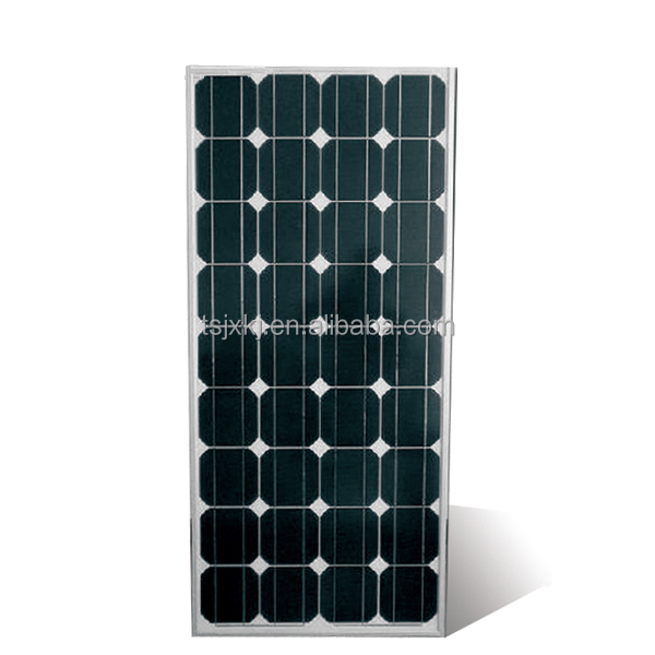 150W mono solar panels with grade B solar cell