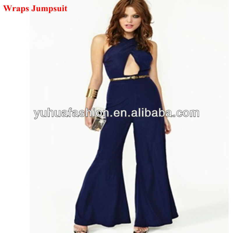 Ladies Fashion Under Wraps Jumpsuit