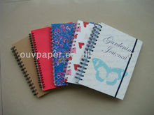 2014 Best price school supply pages custom printed spiral notebook