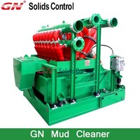mud cleaner combined bu desander and desilter