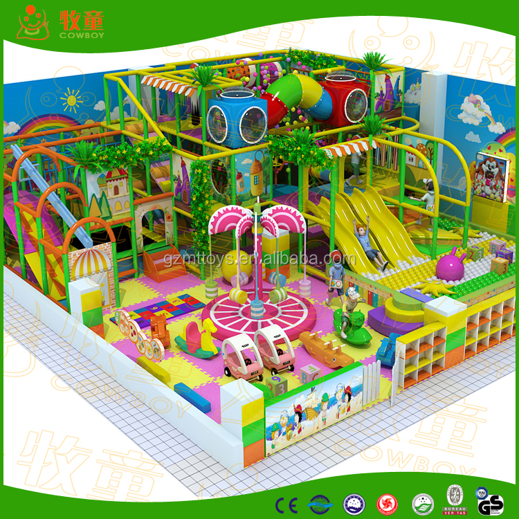 2013 Baby indoor playground for home