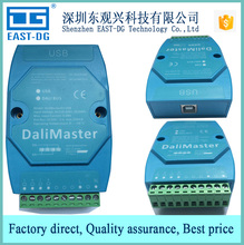 DALI Master Controller work with PC software to control Dali bus devices, Dali USB signal Input CE approved
