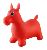 Inflatable Eco-friendly PVC material Ride-on Animal bouncing horse indoor & outdoor toys