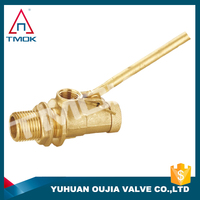 TMOK best-selling brass float valves for water tanks and thread material Hpb57-36 and CE cetificate