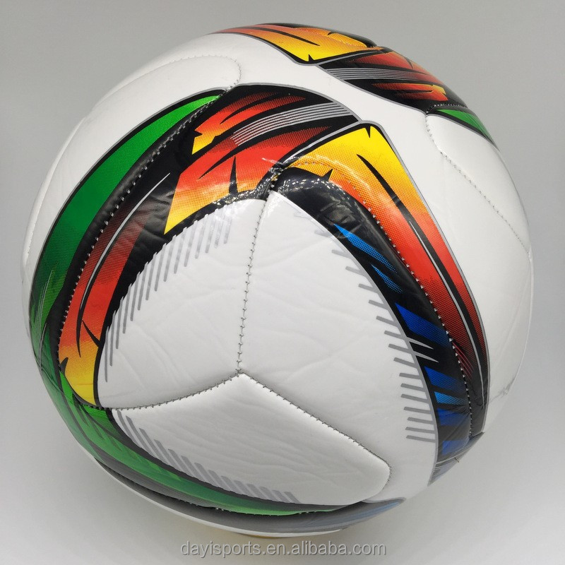 PVC soccer ball football Size 5 4 3 2 mini balls custom logo print machine sewn football wholesale soccer ball manufacture