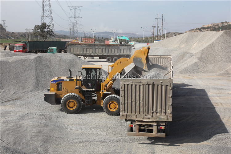 Chinese famous SEM669C 6Ton tractor rear loader
