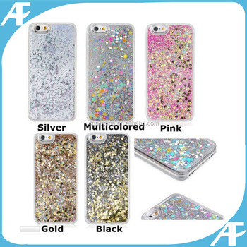 Luxury Glitter Star Liquid Back Phone Case Cover for 6 7 G 8 G , phone case for 8G