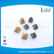 Deburring descaling polishing plastic synthetic material media