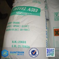 CAS:77-92-9 Citric Acid Anhydrous Acido Citrico