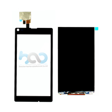 Warranty repair cracked phone lcd screen ward for sony l s36h c2105 c2104 c210x replacement