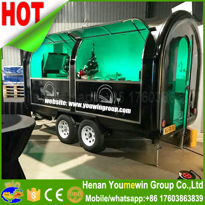 fast restaurant coffee cart kitchen churros catering ice cream china concession mobile food trailer