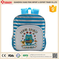 Best selling products in Australia 2016 polyester cartoon children school backpack bag for girls