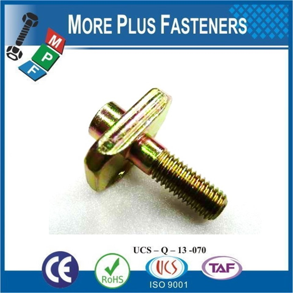 Made in Taiwan Special Automotive Fastener Screws According to Drawing with PPAP Documents
