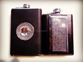 new design hip flask with cigarette case