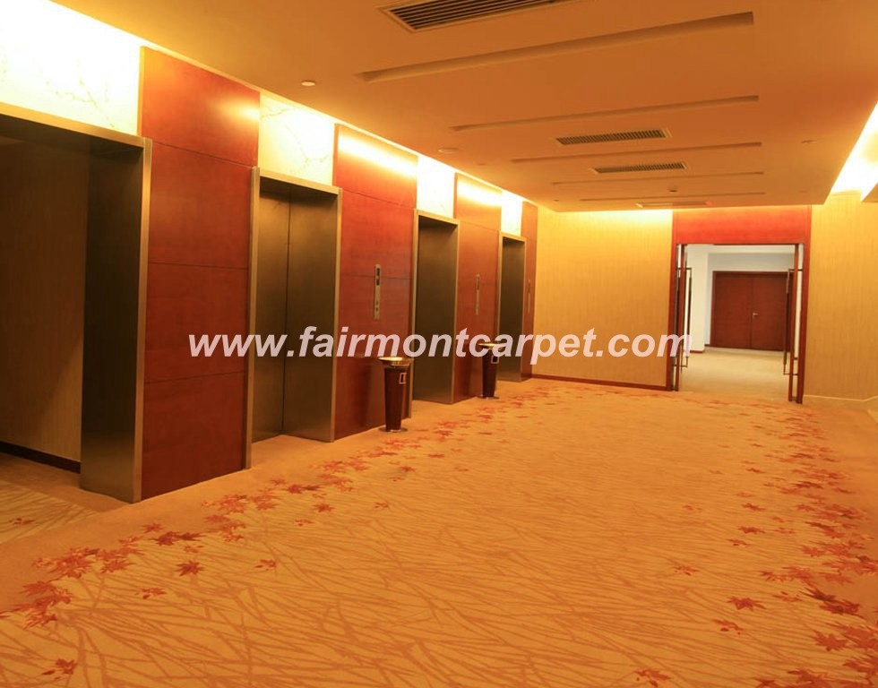3d Imax Fireproof Cinema Theater Nylon Printed Carpet