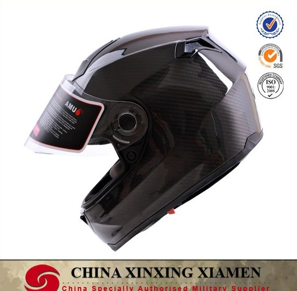 2016 Men Sale New Winter Merida Bicicletas Cascos Capacetes Dual Lens with Airbag Pump Full Face Carbon Fiber Motorcycle Helmet