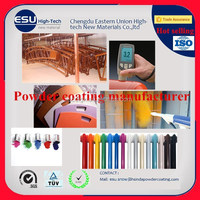 Golden supplier Home Interior multi surface Epoxy Polyester Electrostatic Powder Paint