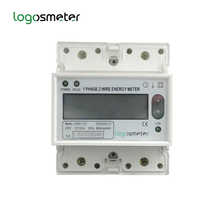 single phase electronic energy <strong>meter</strong> IR-port RS485 DL/T645 communication AMR AMI software electricity <strong>meter</strong> LEM011GC