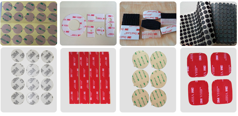 Black 3M non-woven tape Double face Tape 9448AB, we can cut any width, Nameplate bonding, Plastic film lamination, Foam bonding
