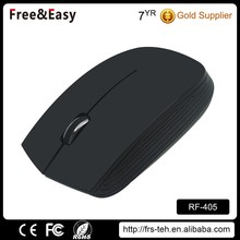 New portable 2.4Ghz flat wireless mouse