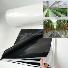 Reflective Hydroponic black & white poly for grow film
