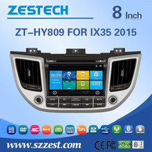 car radio for hyundai ix35 car radio gps with dvd gps navigation bluetooth 3G DVB-T TMC optional