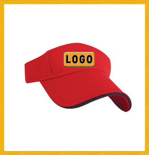 100% cotton,3D embordered classic first top quality golf visors caps