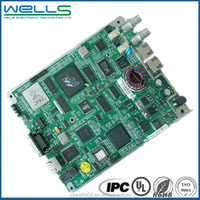 Shenzhen electronics pcb fabrication and pcba assembly