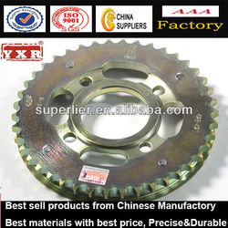 Gear Sprocket for Yamaha Motorcycle,1045# steel, 428H-36T/37T/38T/39T/40T/41T/42T/43T/44T/45T