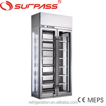G1200L2F Commerical Wine Display Refrigerator/Stainless steel wine display