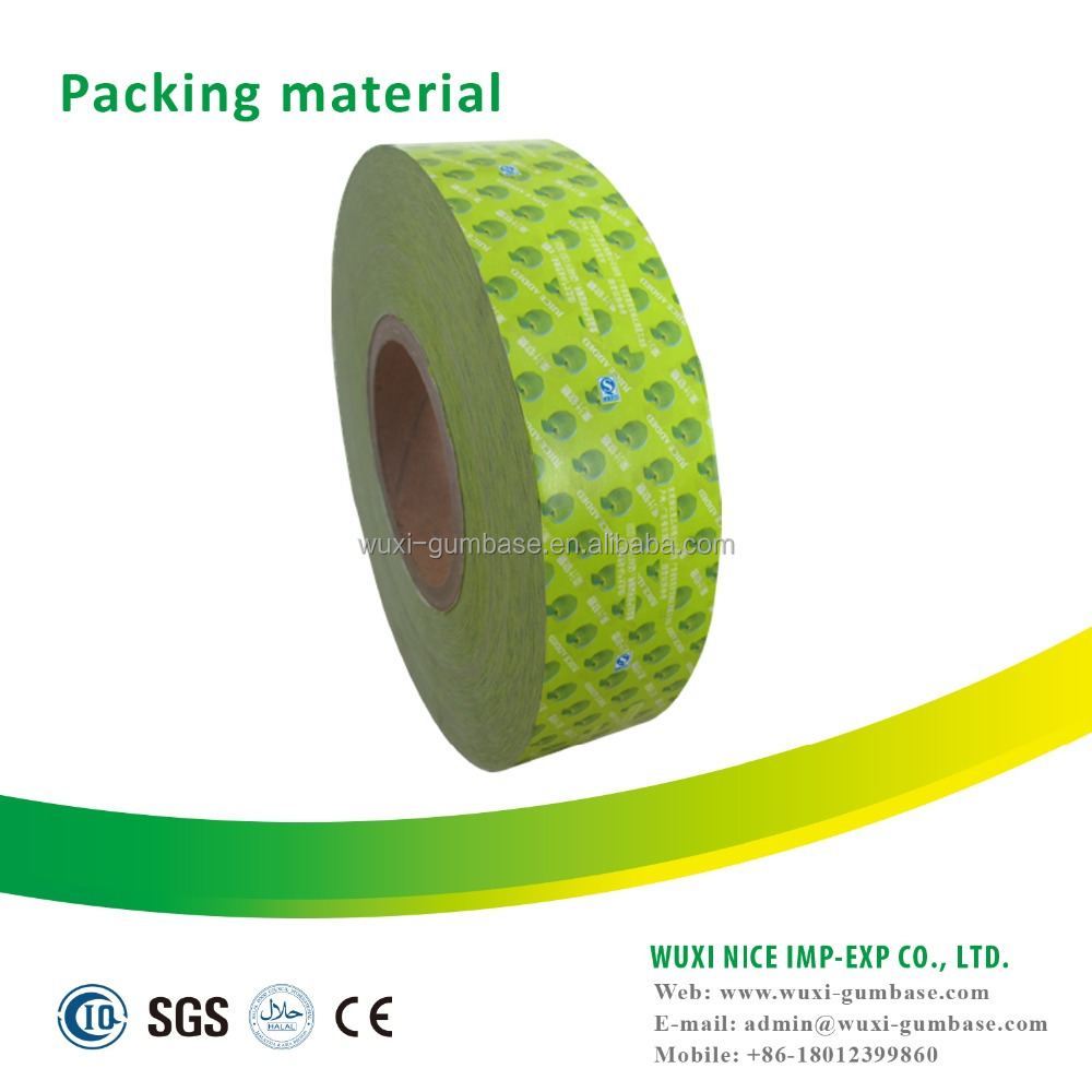 Hot selling packing paper turbo bubble gum