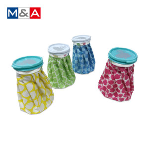 Portable Wine Bottle Cooler nylon stock flower knee instant ice pack