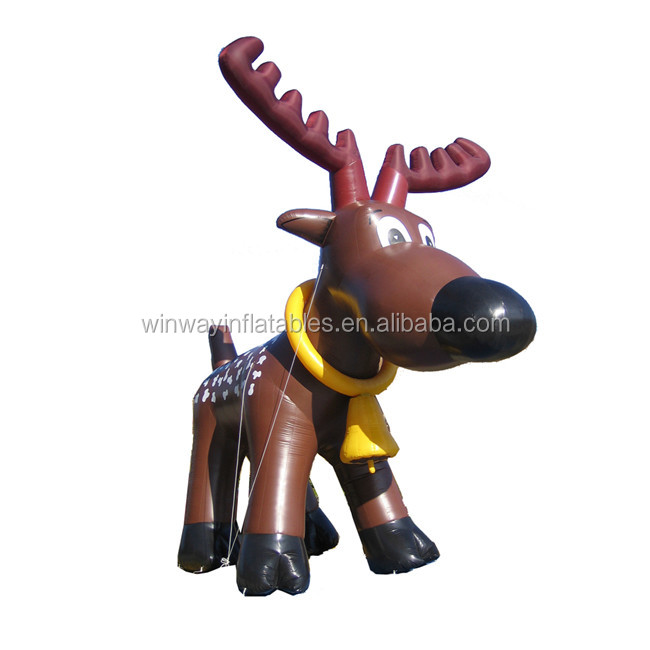 Giant inflatable animal, Christmas inflatable donkey for promotion Y6013