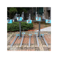factory High Quality Bicycle parking rack Bike stand lock system stage steel outdoor bicycle rack