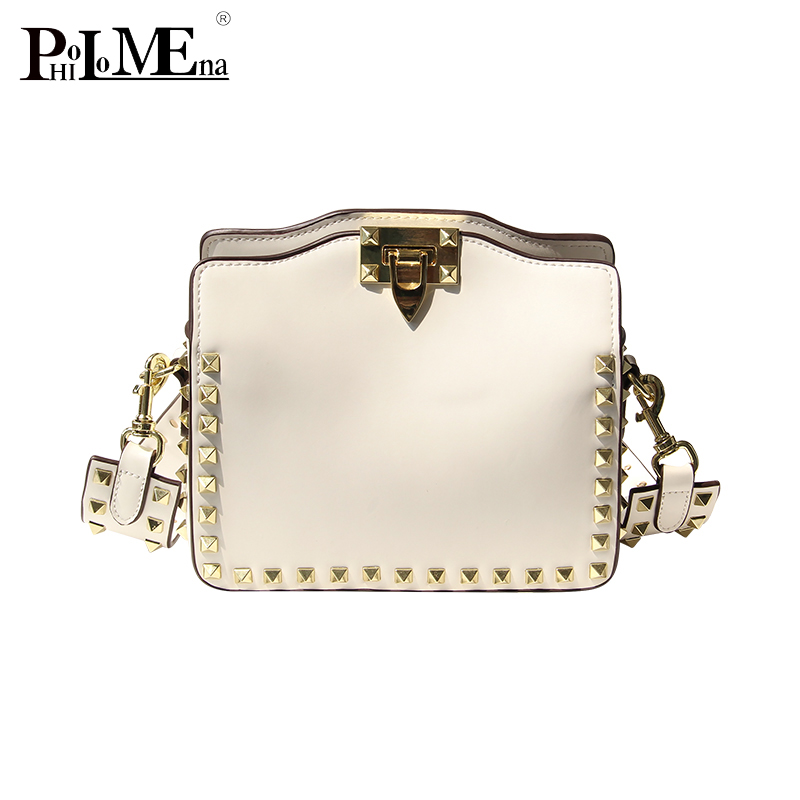 Newest 2018 factory wholesale cheap bags classic metal handbag pu leather woman shoulder bag