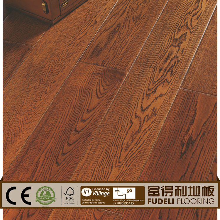High quality v groove wood laminate floor