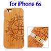 Cheap Price Various Designs Bamboo Wood Cover for iPhone 6s