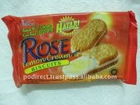 Hatari Rose Lemon Cream Biscuit