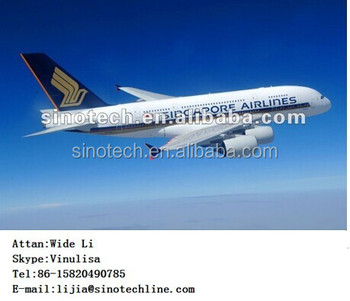 air freight rate from China to Reunion by Corsair